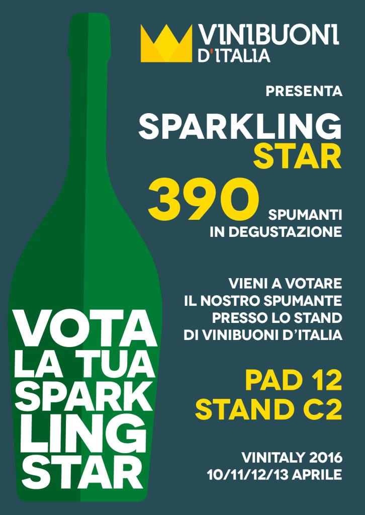Cartolina Sparkling Star